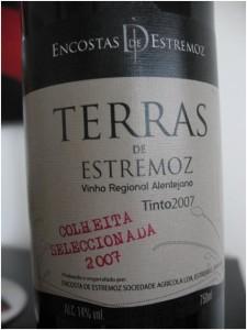 Этикетка португальского вина с обозначением Colheita Seleccionada
