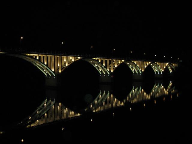Мост над рекой Дору