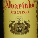 Деу ла Деу Алваринью - зеленое вино, названное именем женщины
