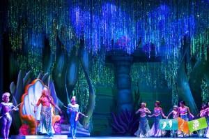 Vinhos porgueses no musical A Pequena Sereia em Moscovo