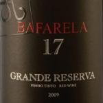 Вино с Дору Bafarela 17 2009 года и 17 градусами