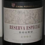 Reserva Especial 2001 Douro Casa Ferreirinha