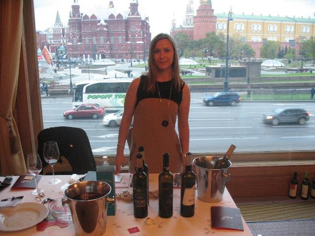 Salão de Vinhos Portugueses em Moscovo