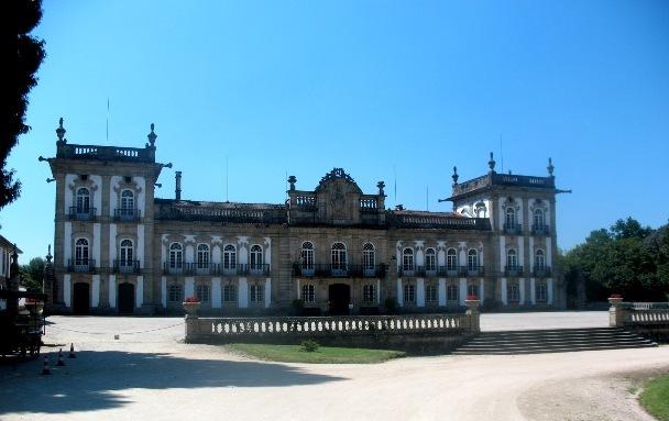 Португалия, Монсау, дворец,