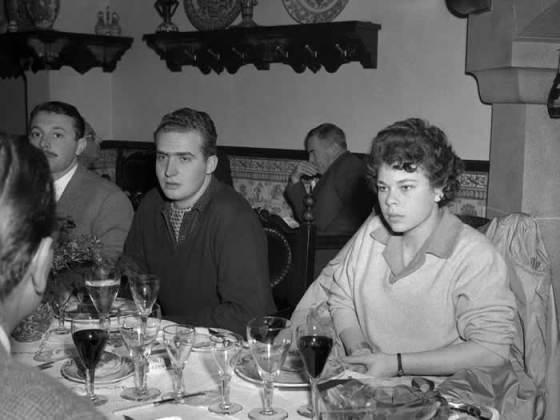 """Король Испании Хуан Карлос в ресторане """"Escondidinho"""""""