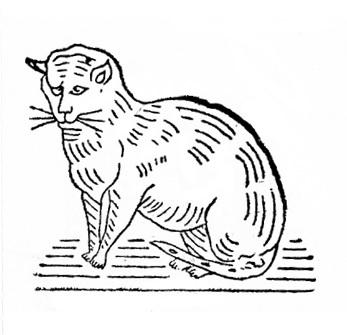 Котик на этикетке в 1935 году