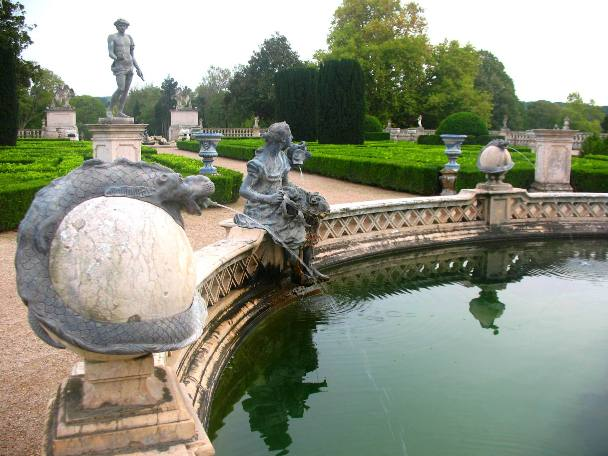 Королевский дворец и парк Келуш