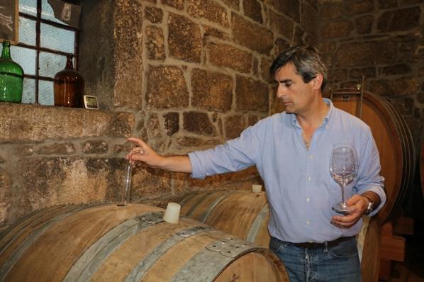 Luís Seabra - winemaker at Muxagat Vinhos