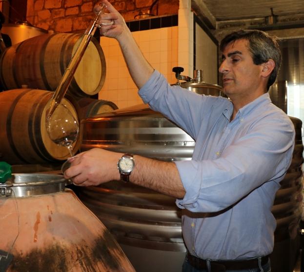 Luís Seabra, winemaker at Muxagat Vinhos