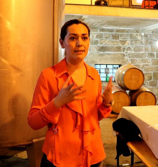 Susana Lopes, proprietária da Muxagat Vinhos