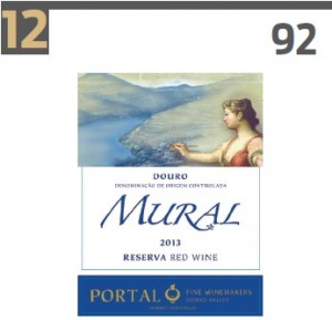 Mural Quinta do Portal in Top 100 Best Buys 2016 Wine Enthusiast
