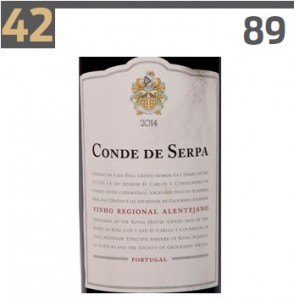 Conde de Serpa in Top 100 Best Buys 2016 Wine Enthusiast