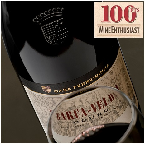 Barca Velha 2008 - 100 points - Wine Enthusiast