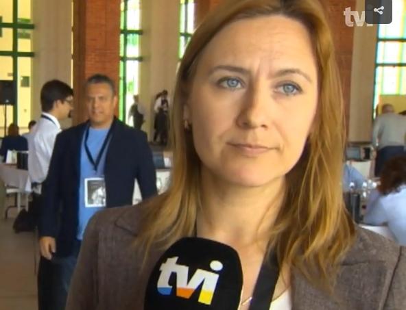 Interview TVI Valeria Zeferino