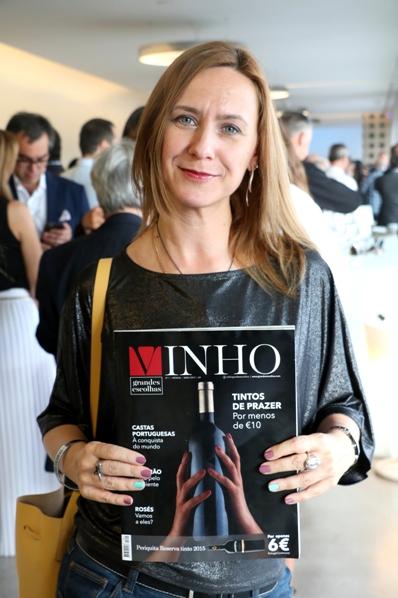 Валерия Зеферино журнал VINHO - Grandes Escolhas