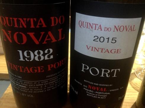 Винтажный портвейн Кинта ду Новал
