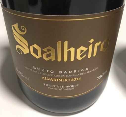 Soalheiro Bruto Barrica Alvarinho Vinho Verde