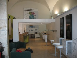 Дегустационный зал Винипортугал