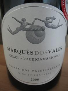 Marques dos Vales Touriga Nacional