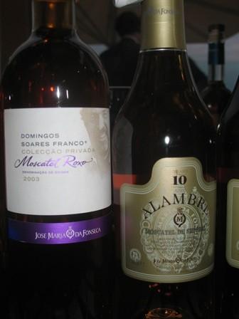 Colecção Privada DSF Moscatel Roxo 1998 и Moscatel de Setúbal Alambre 10 anos