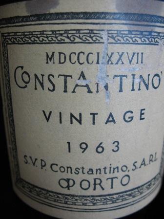 Constantinos Vintage 1963