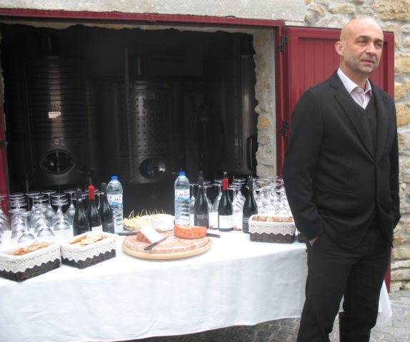 Андре Манз - производитель вина в ManzWine