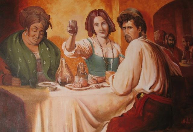 Вино полезно для мужчин, когда его пьют женщины