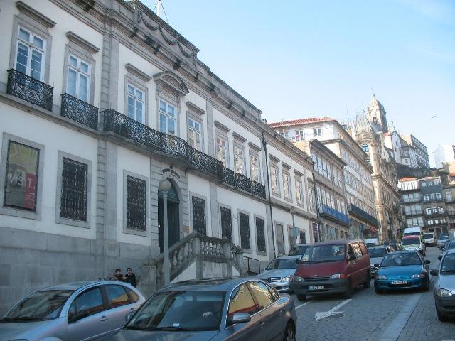 Здание Института Вин Дору и Порту в городе Порту