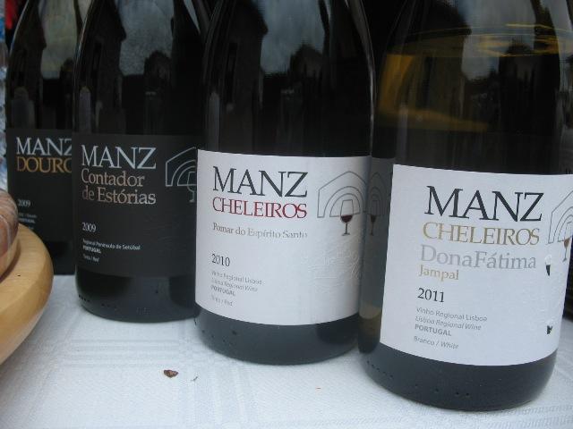 ManzWine wines производятся в Шелейруш, Сетубал и Дору