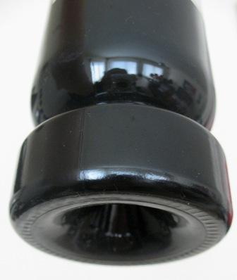 Необычное дно бутылки-декантера системы Мартина Бересатеги