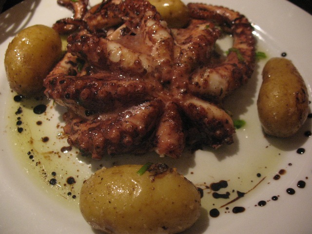 Португальское блюдо с осьминогом