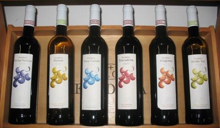 Односортовые вина Ervideira