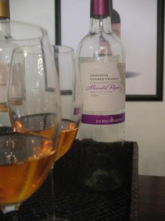 Дегустация вин и мушкателей в Жозе Мария да Фонсека
