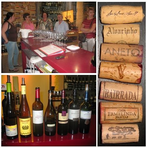 Дегустации португальских вин и портвейнов в Лиссабоне