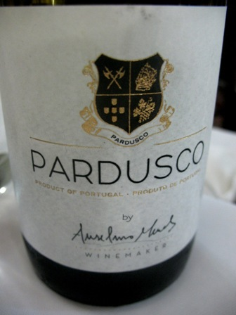 красное зеленое вино Pardusco