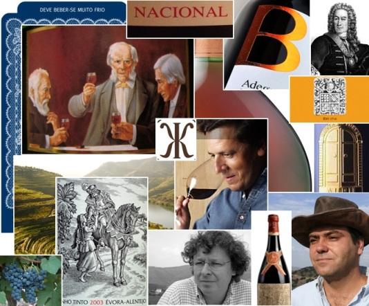 Коллаж на тему португальского виноделия, далеко не исчерпывающий, всего лишь намеки.