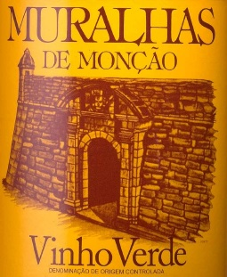Muralhas de Monção - португальское вино
