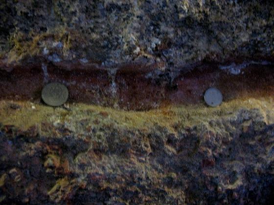Монетки в стене