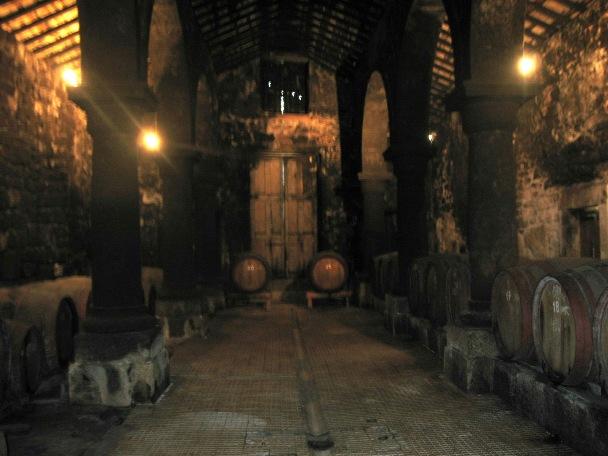 В помещении старой винодельни сейчас выдерживается агуарденте Palácio da Brejoeira, а сухое вино из алваринью делается на новой винодельне.