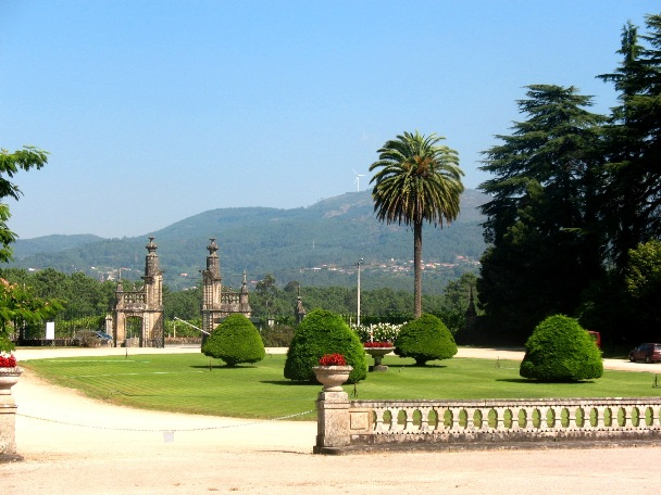 Дворец, Монсау, Зеленые вина, Португалия