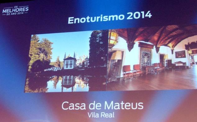 Casa de Mateus - энотуризм года
