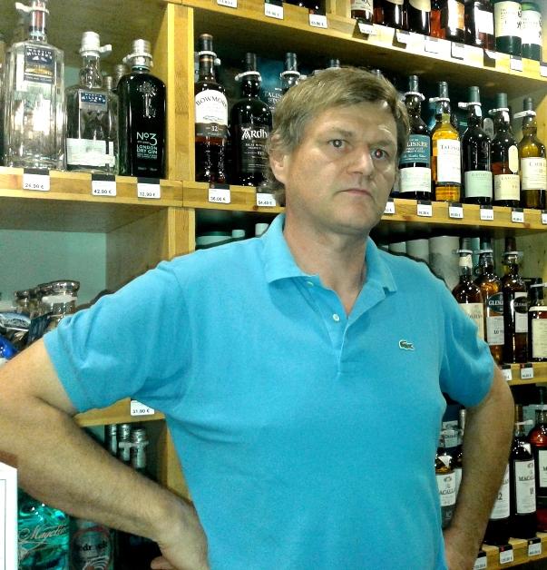Франсуа Шассан, владелец кинты в Байрраде