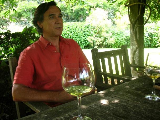 Педру Араужу во время беседы на Quinta do Ameal в августе 2013
