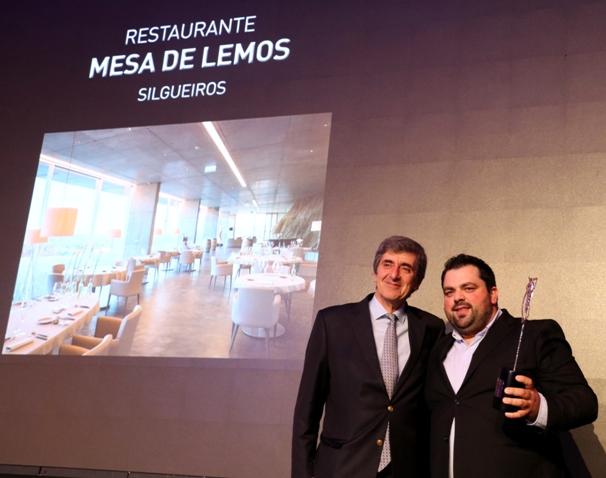 Diogo Rocha - shef do restaurante Mesa de Lemos